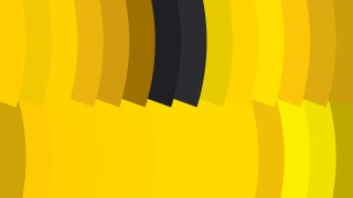 Black and Yellow Geometric Shapes Background Vector