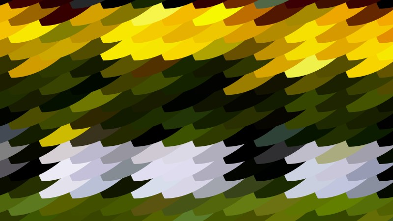 Black Green and Yellow Geometric Shapes Background