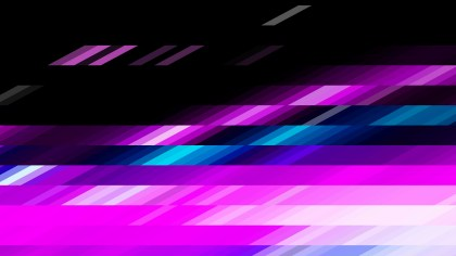 Black Pink and Blue Geometric Shapes Background Design