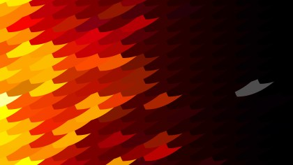 Abstract Black Red and Yellow Geometric Shapes Background