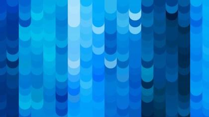 Blue Geometric Shapes Background