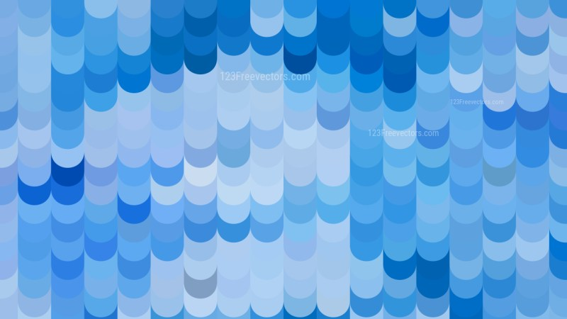 Abstract Blue Geometric Shapes Background Vector Graphic