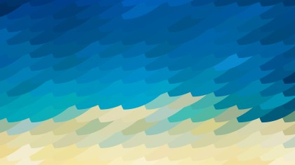 Blue and Beige Geometric Shapes Background