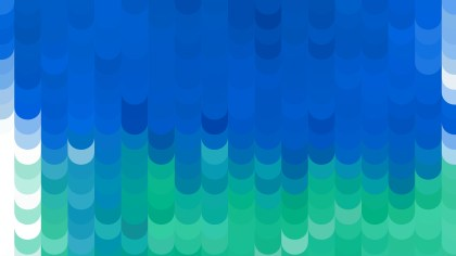 Abstract Blue and Green Geometric Shapes Background