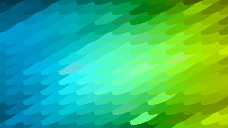 Blue and Green Geometric Shapes Background Illustrator
