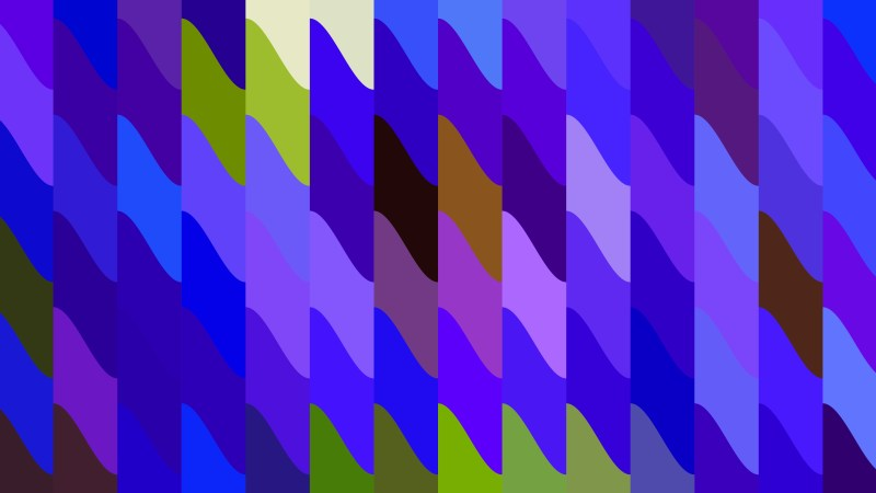 Blue and Purple Geometric Shapes Background Design