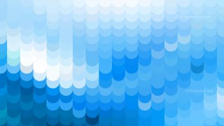 Abstract Blue and White Geometric Shapes Background Vector