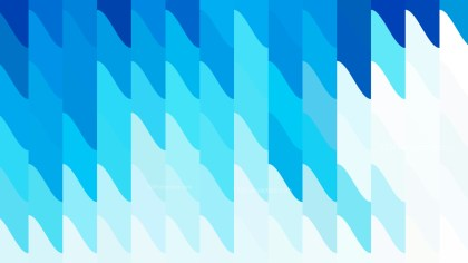 Blue and White Geometric Shapes Background Vector Graphic
