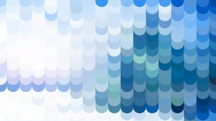 Blue and White Geometric Shapes Background Design
