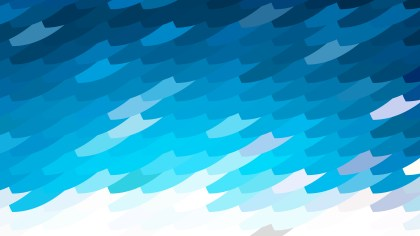 Abstract Blue and White Geometric Shapes Background