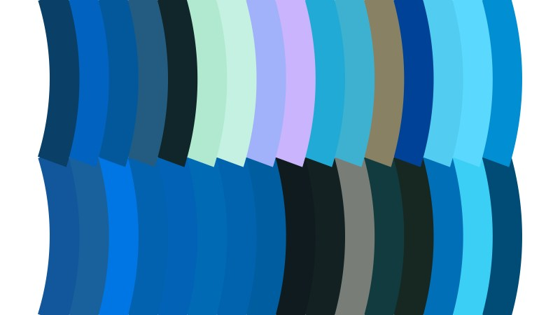 Abstract Blue Black and White Geometric Shapes Background