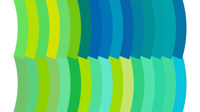 Blue Green and White Geometric Shapes Background
