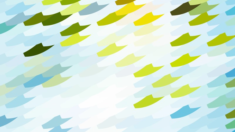 Abstract Blue Green and White Geometric Shapes Background