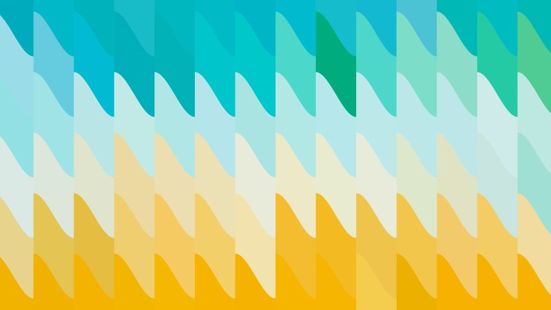 Abstract Blue Orange and White Geometric Shapes Background