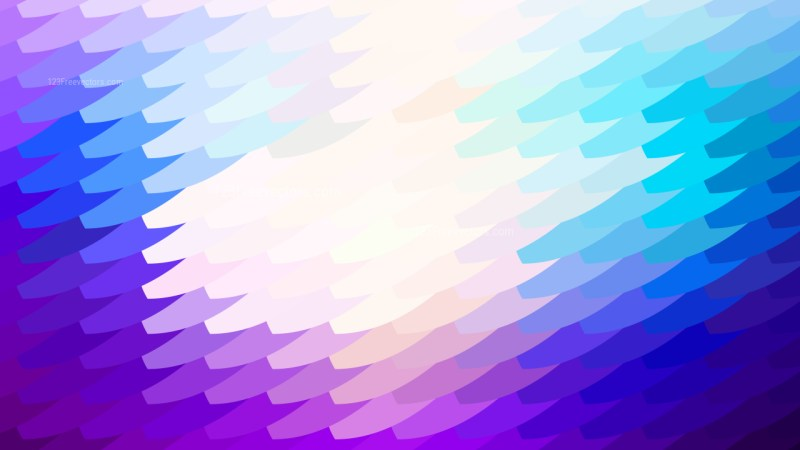 Abstract Blue Purple and White Geometric Shapes Background Vector