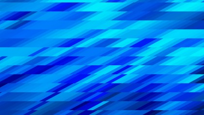 Abstract Bright Blue Geometric Shapes Background