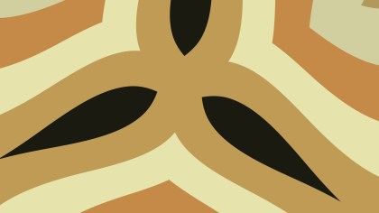 Brown Geometric Shapes Background