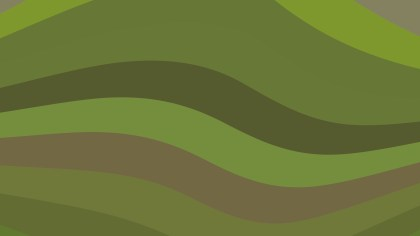 Brown and Green Geometric Shapes Background