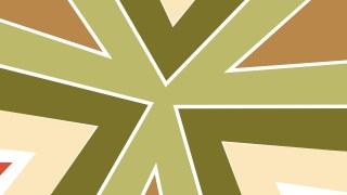 Brown and Green Geometric Shapes Background Illustrator