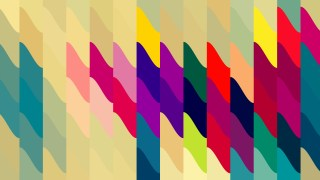 Abstract Colorful Geometric Shapes Background Illustrator