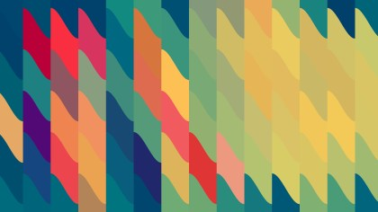 Colorful Geometric Shapes Background Vector