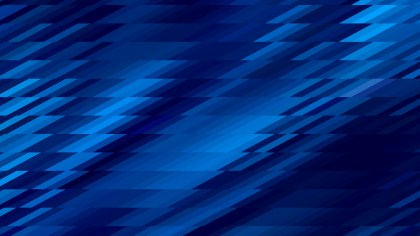 Abstract Cool Blue Geometric Shapes Background
