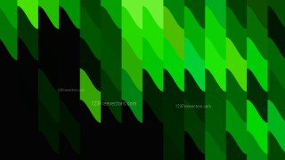 Cool Green Geometric Shapes Background
