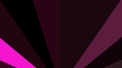 Cool Pink Geometric Shapes Background