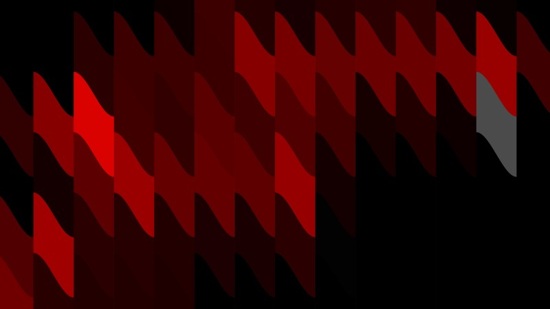 Cool Red Geometric Shapes Background Vector Graphic