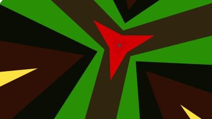 Dark Color Geometric Shapes Background
