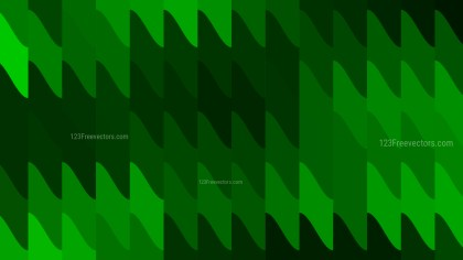 Dark Green Geometric Shapes Background