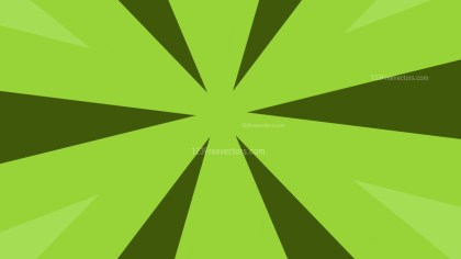 Abstract Green Geometric Shapes Background