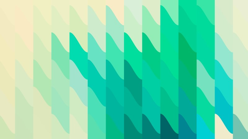 Green and Beige Geometric Shapes Background Design