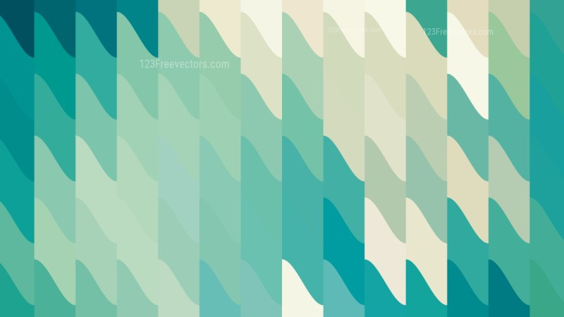 Green and Beige Geometric Shapes Background Graphic