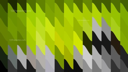 Abstract Green and Black Geometric Shapes Background Graphic