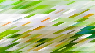 Abstract Green and White Geometric Shapes Background