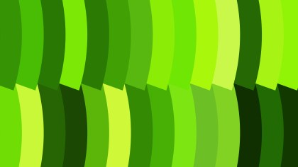 Abstract Green and Yellow Geometric Shapes Background