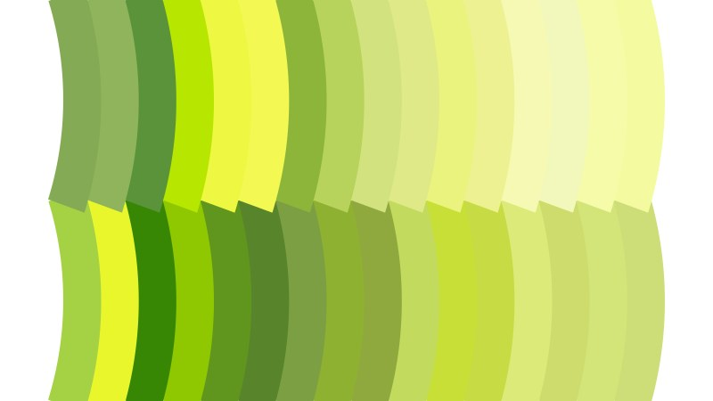 Green and Yellow Geometric Shapes Background Vector Graphic