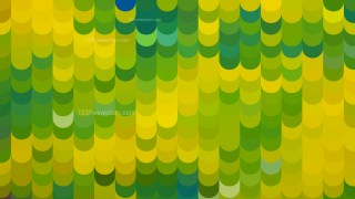 Green and Yellow Geometric Shapes Background