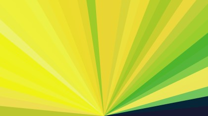 Abstract Green and Yellow Geometric Shapes Background Vector Graphic