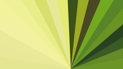 Abstract Green and Yellow Geometric Shapes Background Vector
