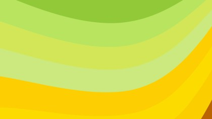 Green and Yellow Geometric Shapes Background Graphic