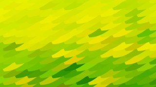 Abstract Green and Yellow Geometric Shapes Background Design