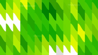 Green Yellow and White Geometric Shapes Background