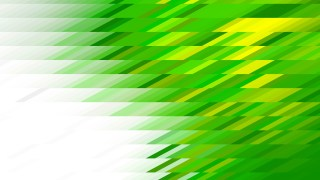 Green Yellow and White Geometric Shapes Background Vector
