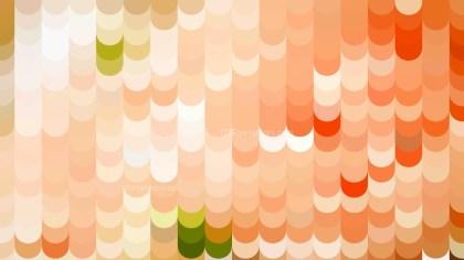Orange Geometric Shapes Background