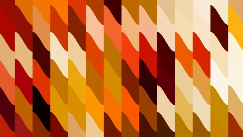 Orange Geometric Shapes Background Vector Graphic