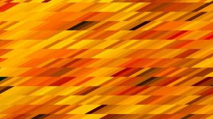 Orange Geometric Shapes Background