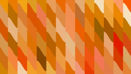Abstract Orange Geometric Shapes Background Vector