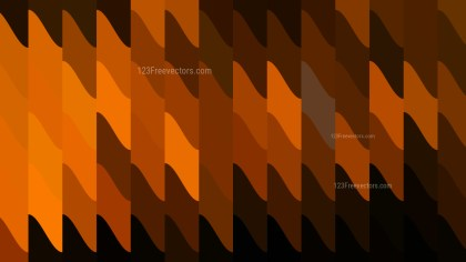Orange and Black Geometric Shapes Background